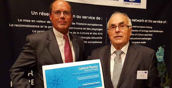 Certification Impressionisms Routes - Pierre Bedouelle, Georges Lucenet - Photo GLK