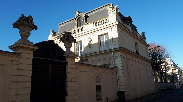 L'Hôtel de Noailles à Saint-Germain-en-Laye. Photo B. de Cosnac