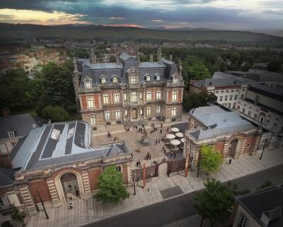 Vision du Château Perrier à la fin des travaux. (c) Ville d'Epernay.