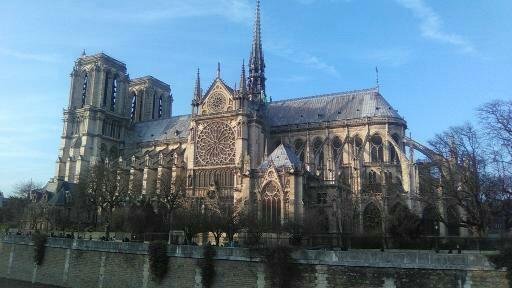 Notre-Dame avant l'incendie. (c) Benoit de Sagazan pour Patrimoine-en-blog