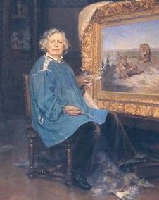 Portrait de Rosa Bonheur, d'Achille Fould