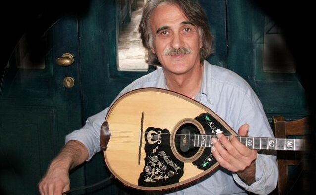 Dinos Konstantinidis, rebetiko, photo Serge Biet