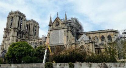Notre-Dame de Paris, 5 jours après l'incendie du 15 avril 2019 (Photo FC)