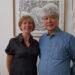 Béatrice Hignard, guide conférencière, et Tetsuo Harada, sculpteur, membres associés AJP