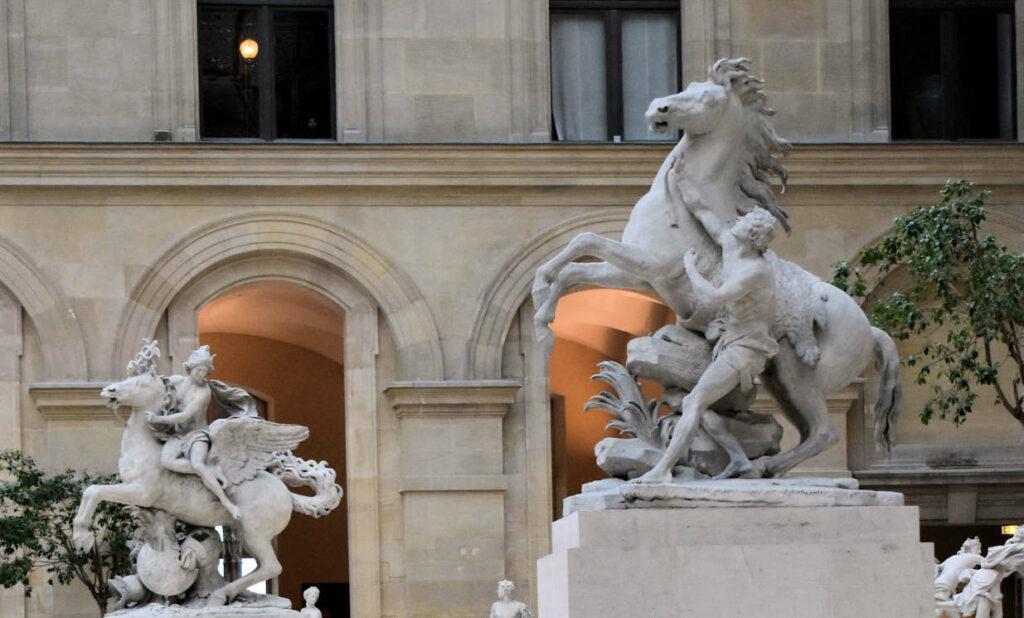 Des chevaux de Marly au Louvre