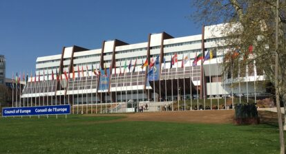 Conseil d'Europe, Strasbourg