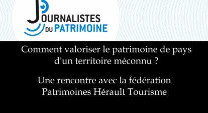 Patrimoines Hérault Tourisme - AJP